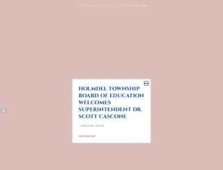 holmdelschools.org screenshot