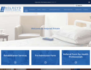 holroydprivate.com.au screenshot