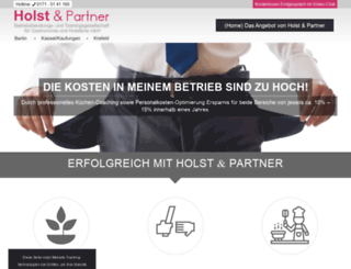 holst-und-partner.de screenshot