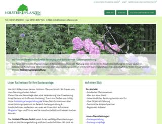 holstein-pflanzen.de screenshot