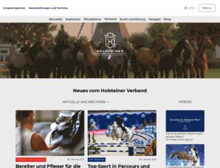 holsteinerverband.biz screenshot