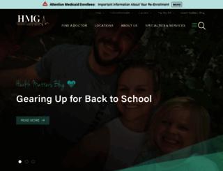 holstonmedicalgroup.com screenshot
