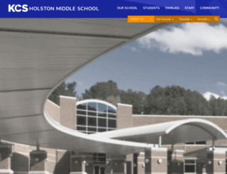 holstonms.knoxschools.org screenshot