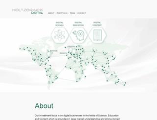 holtzbrinck-digital.com screenshot