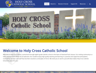 holycrossearlyeducationcenter.com screenshot