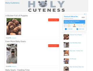 holycuteness.com screenshot