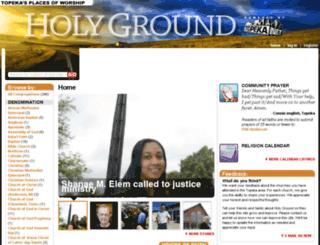 holyground.topeka.net screenshot