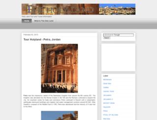 holyland-tour.blogspot.com screenshot