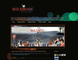 holymus.blogspot.com screenshot