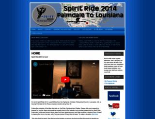 holyspiritrider.com screenshot