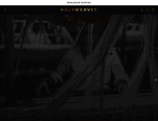 holyweaves.com screenshot