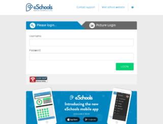 holywell.eschools.co.uk screenshot