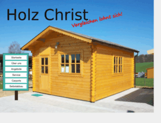 holz-christ.de screenshot