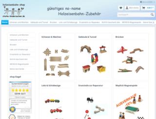 holzeisenbahnshop.de screenshot
