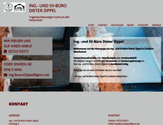 holzschutz-zippel.de screenshot