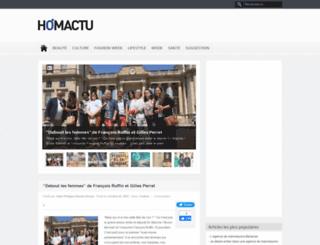 homactu.net screenshot