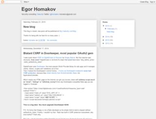 homakov.blogspot.co.il screenshot