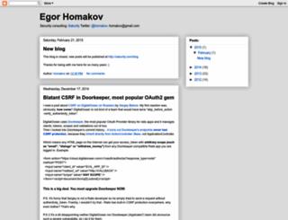 homakov.blogspot.com screenshot