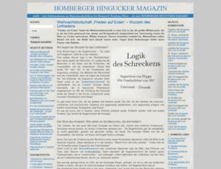 homberger-hingucker.de screenshot