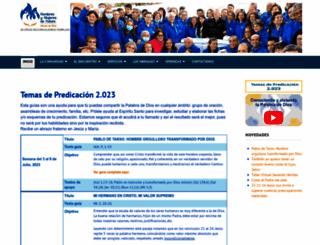 hombresymujeresdefuturo.org screenshot