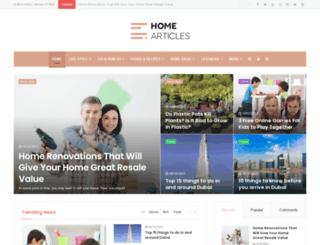 home-articles.com screenshot