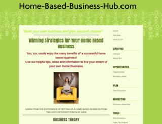 home-based-business-hub.com screenshot