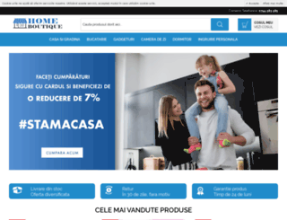 home-boutiqe.ro screenshot