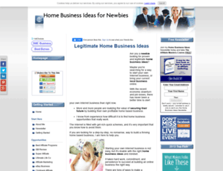 home-business-ideas-for-newbies.com screenshot