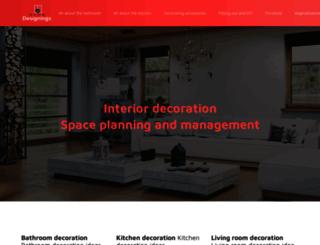 home-designings.com screenshot