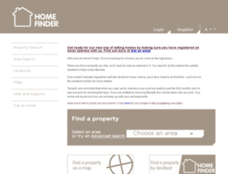 home-finder.org.uk screenshot