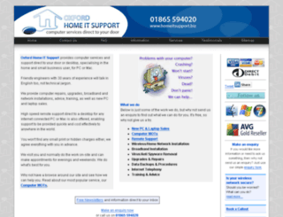 home-it-support.co.uk screenshot
