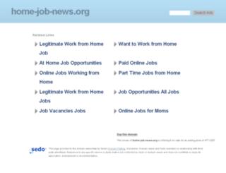 home-job-news.org screenshot