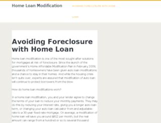 home-loanmodification.com screenshot