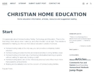 home-school.co.uk screenshot