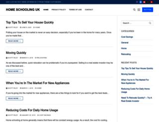 home-schooling-uk.com screenshot
