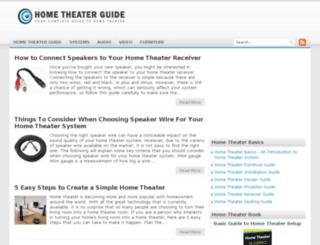 home-theater-guide.org screenshot