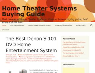 home-theater.kristinefoods.com screenshot