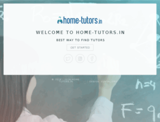 home-tutors.in screenshot