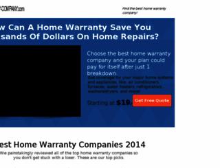 home-warranty-company.com screenshot