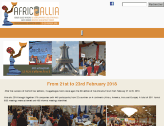 home.africallia.com screenshot