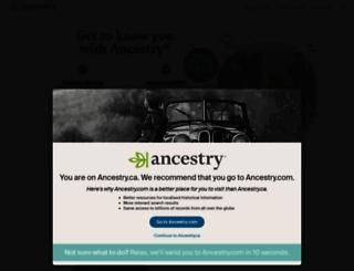 home.ancestry.ca screenshot