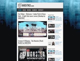 home.anditko.com screenshot