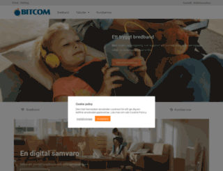 home.bitcom.se screenshot