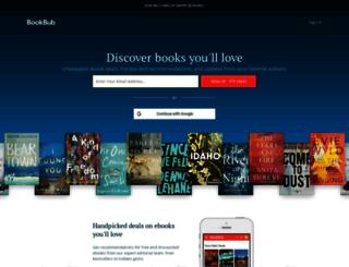 home.bookbub.com screenshot
