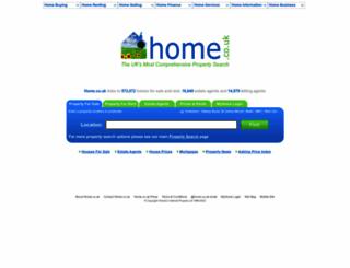 home.co.uk screenshot