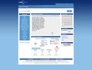 home.core.com screenshot