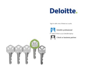 home.deloitte.com screenshot
