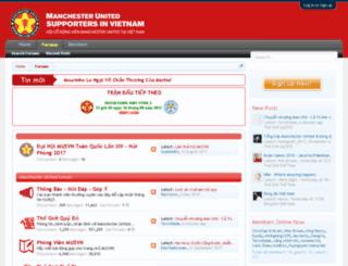 home.manutd.com.vn screenshot