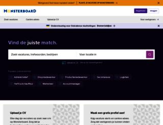 home.monsterboard.nl screenshot