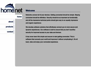 home.net screenshot